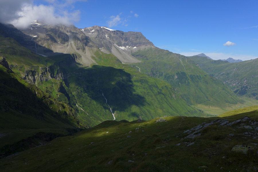 Schareck Neuwirtsteig - 1500 Meter-Flanke über dem Nassfeld - Bergtour, Klettersteig, Sportgastein