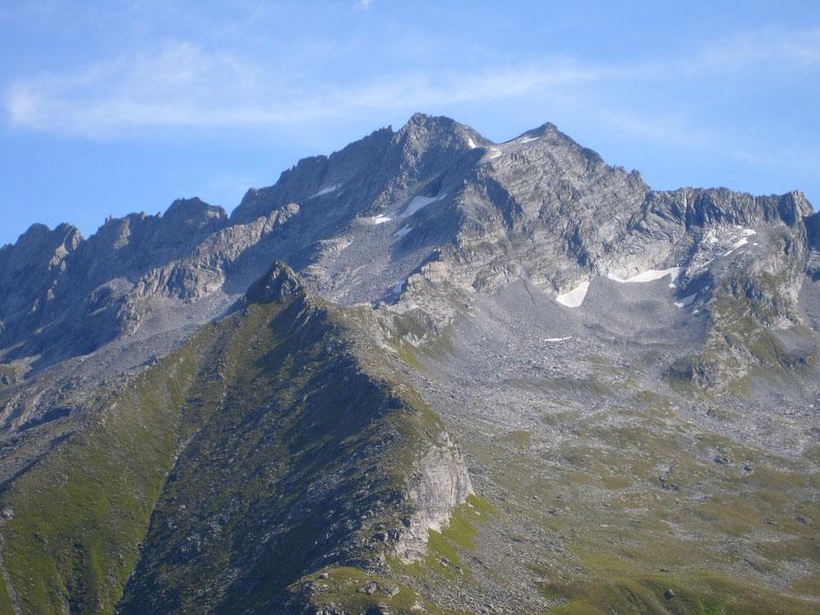 "Rosswandspitze - Westflanke mit dem ""Normalweg"" - Bergtour, Zillertaler Alpen, Tirol"