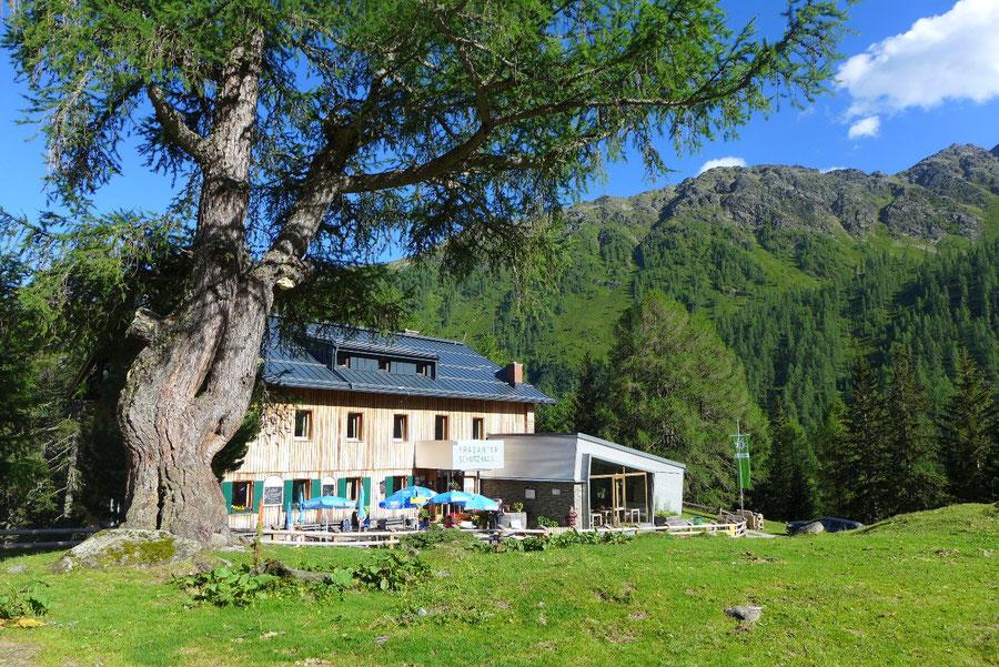 Hoher Sadnig - Fraganter Schutzhaus - Bergtour, Sadnighaus, Sadnigscharte