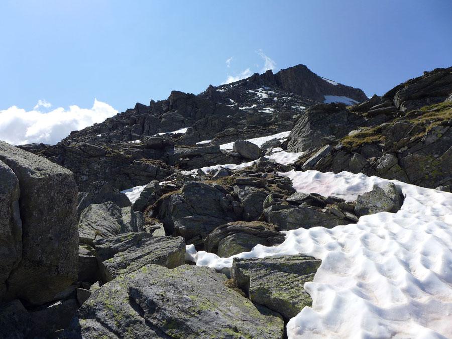 Riedbock - Nordgrat Linksquergang - Bergtour, Reißeckgruppe, Mölltal, Kärnten