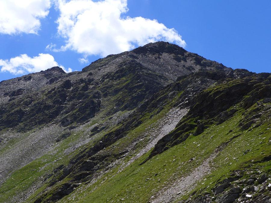 Hoher Sadnig - Aufstieg Sadnigscharte - Bergtour, Fraganter Hütte, Sadnighaus