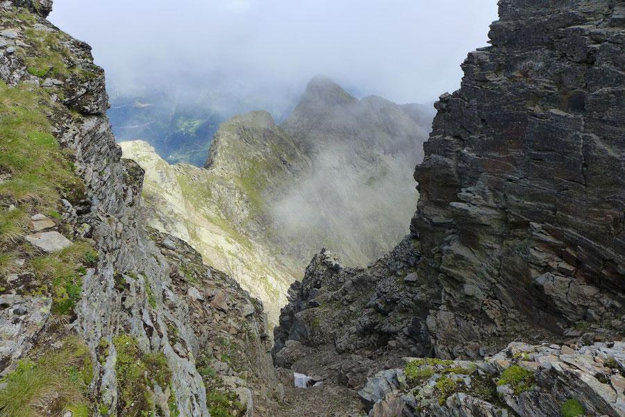 Polinik - Scharte, Mörnigköpfe - Normalweg, Bergtour, Kreuzeckgruppe, Kärnten