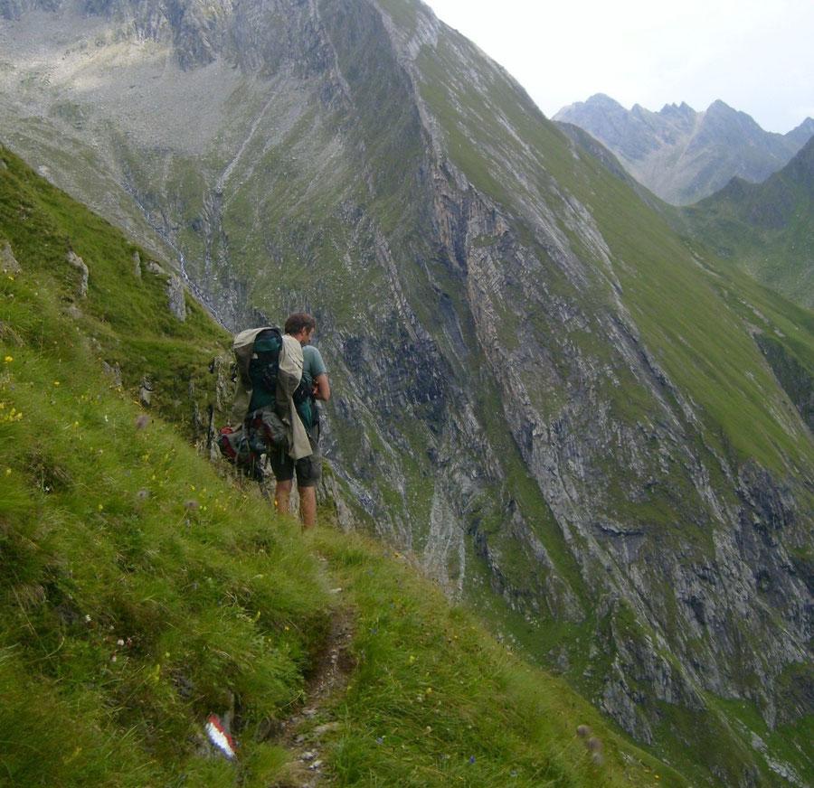 JWD Bergtouren Pfunderer Berge Pfunderer Höhenweg Dannelscharte