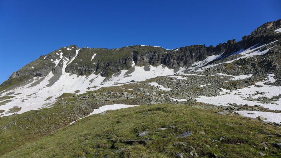 Zaubernock - Plateau unter dem Riekener Sonnblick - Bergtour, Obere Mooshütte, Reißeckgruppe, Kärnten