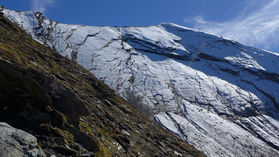 Krefelder Weg - Schmiedinger Scharte Aufstieg Ostseite - Rudolfshütte, Krefelder Hütte, Bergtour, Tauern