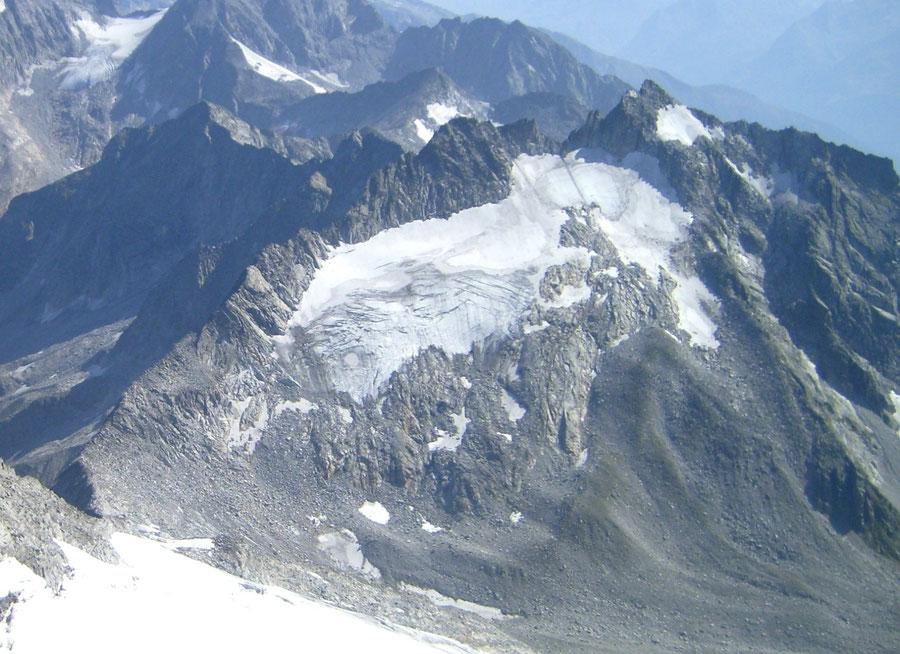 Keilbachspitze - Südwestseite mit Normalweg - Bergtour, Zillertaler Alpen, Ahrntal, Südtirol