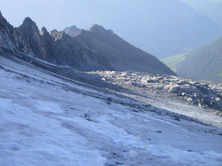 Großer Löffler - Trippachkees Steinschlag - Bergtour, Zillertaler Alpen, Ahrntal, Südtirol