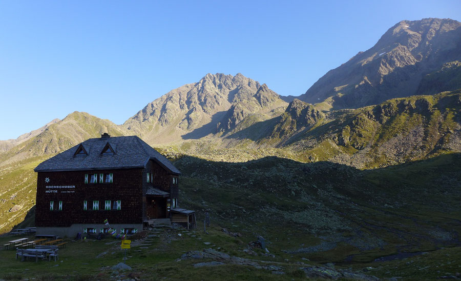 Leibnitztörl - Hochschoberhütte - Bergtour, Franz-Keil-Weg, Lienzer Hütte