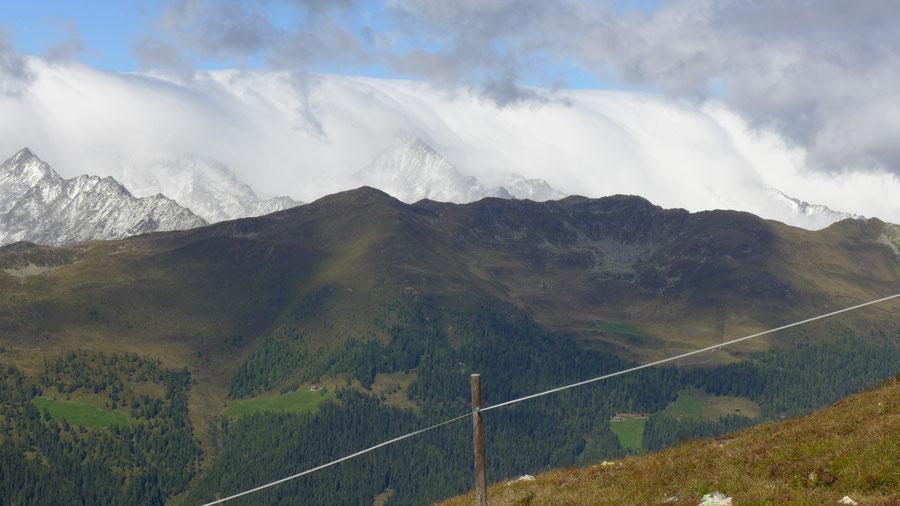 Pfunderer Höhenweg - Hoher Spitz, Föhnsturm - Wanderung, Pfunderer Berge, Südtirol