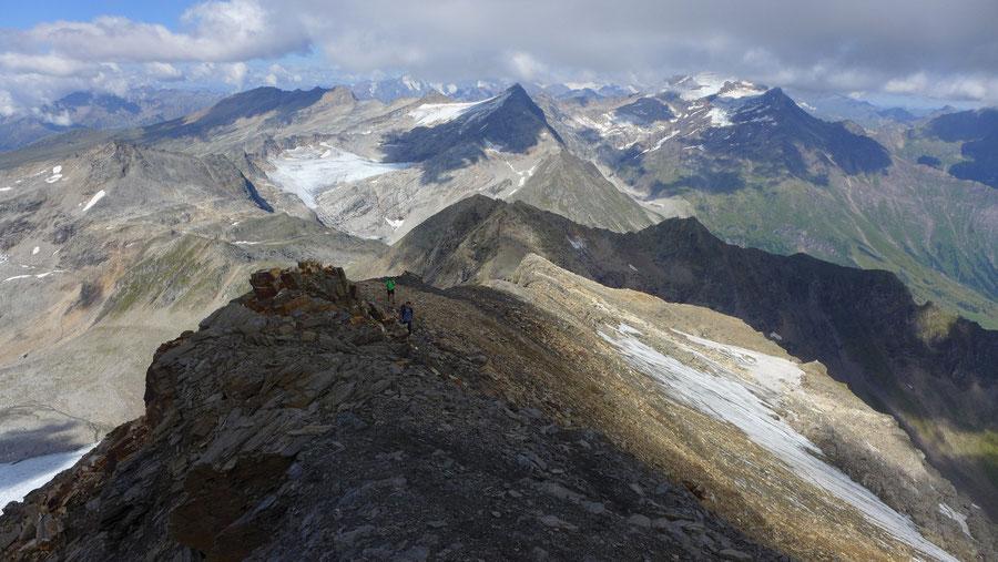 Schareck Pröllweg - Schareck Westgrat - Bergtour, Klettersteig, Niedersachsenhaus, Sportgastein