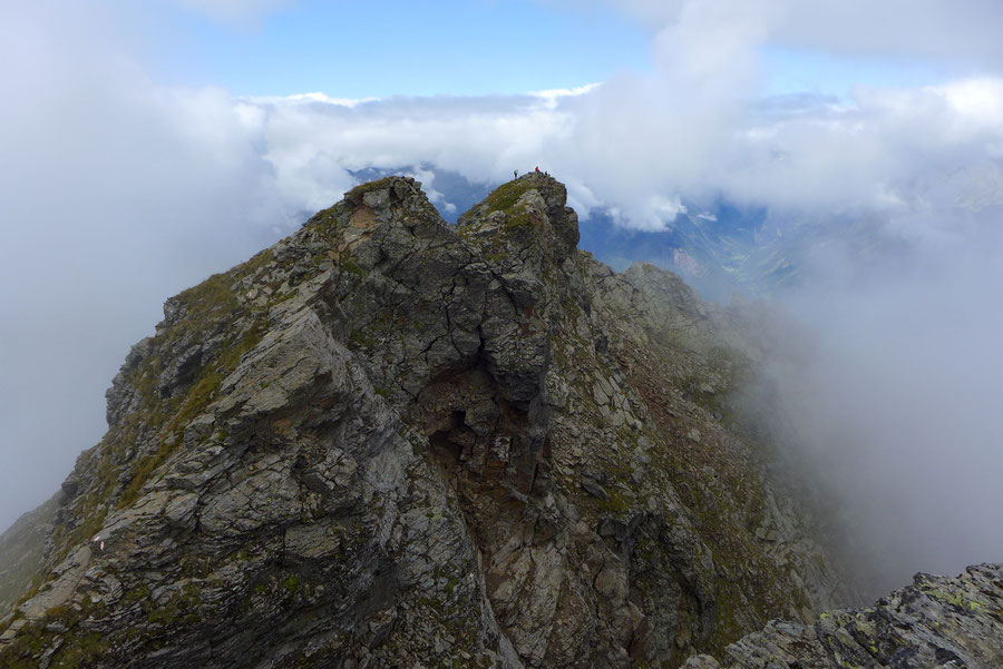 Polinik - Gipfel, Vorgipfel, Gipfelgrat - Normalweg, Bergtour, Kreuzeckgruppe, Kärnten