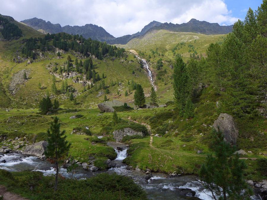 Leibnitztörl und Hochschoberhütte - Debanttal Naturlehrpfad - Bergtour, Franz-Keil-Weg, Lienzer Hütte