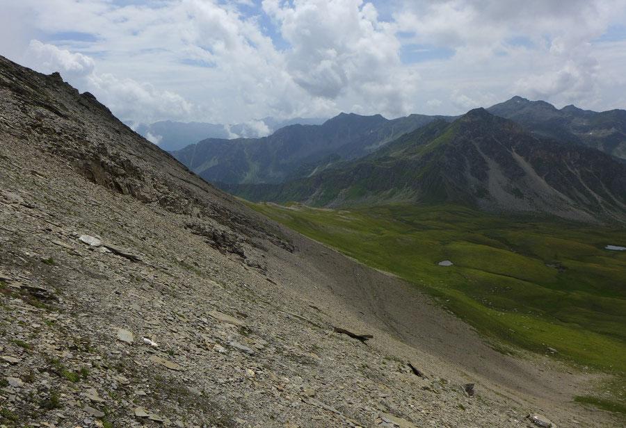 Sadnig-Höhenweg - Ochsentrieb - Bergtour, Mölltaler Gletscher, Fraganter Hütte, Kärnten