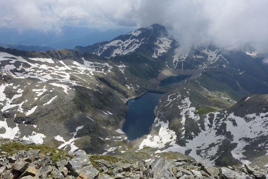 Riedbock - Gipfel Blick zur Hohen Leier - Bergtour, Reißeckgruppe, Mölltal, Kärnten
