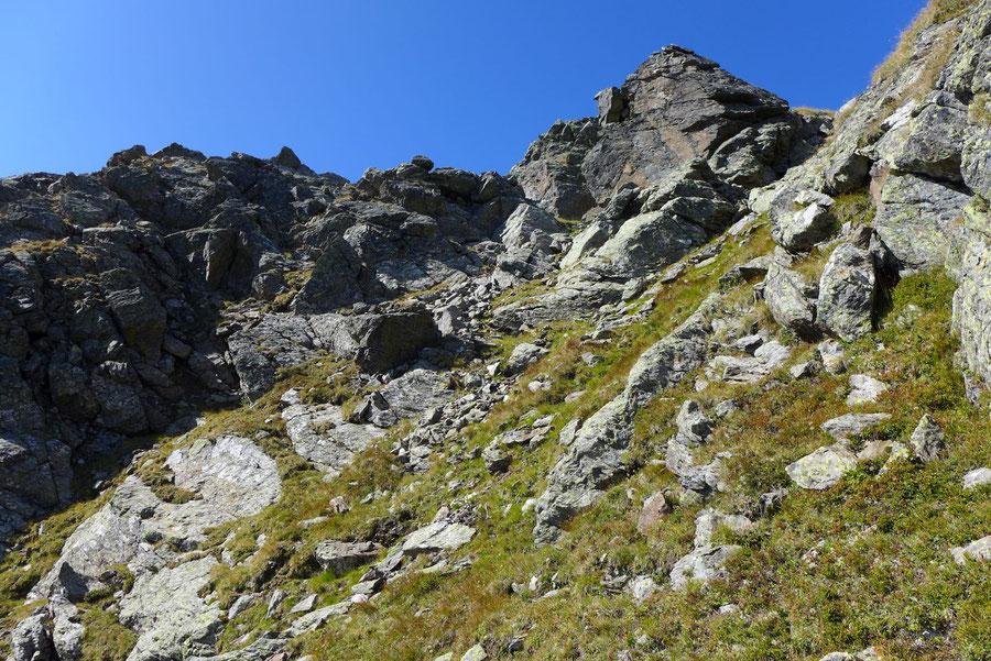 Rothorn - Nordwestgrat, 2. Kletterstelle - Bergtour, Kreuzeckgruppe, Kärnten