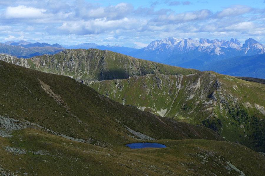 Pfunderer Höhenweg - Sambock von der Putzenhöhe - Wanderung, Pfunderer Berge, Südtirol