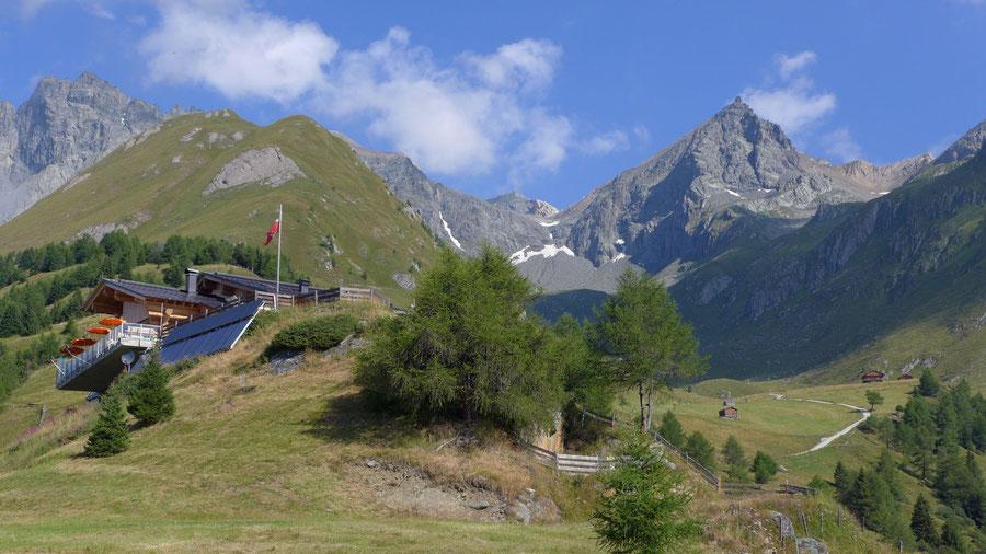 Bonn-Matreier-Hütte - Wanderung, Virgental, Venedigergruppe - Nilljochhütte u. Säulspitze