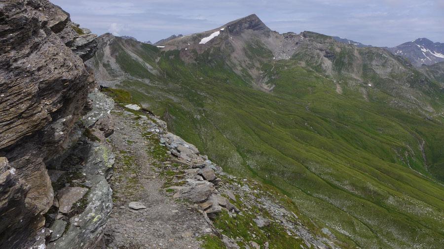 Sadnig-Höhenweg - Kleinfragant, Sandfeldkopf - Bergtour, Mölltaler Gletscher, Fraganter Hütte, Kärnten