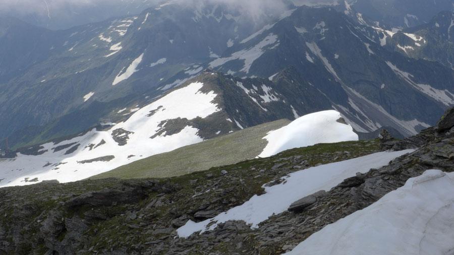 Grauleitenspitze - Trittspuren und Steinmännchen - Wanderung, Bergtour, Hannoverhaus, Ankogel