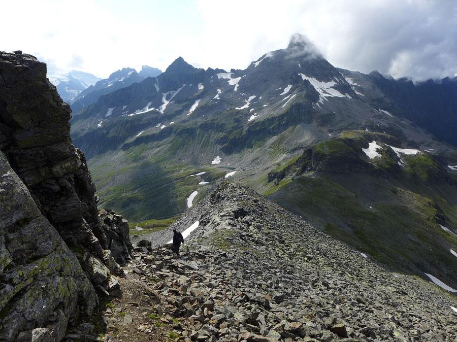 JWD Bergtouren Hörndl Hochgasser Abstieg Hochgasser 2