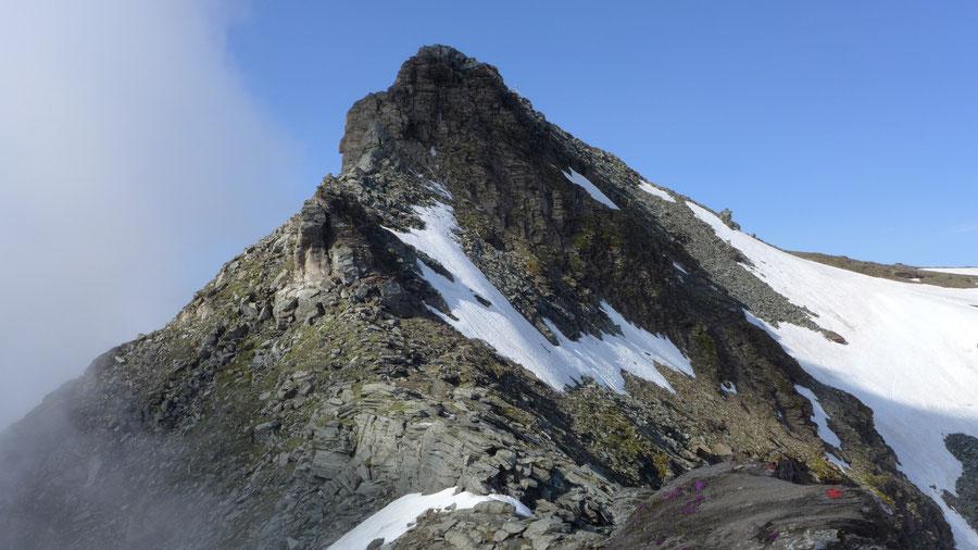 Vorderer Geiselkopf - Nordostgrat, Steilstufe - Bergtour, Hagener Hütte