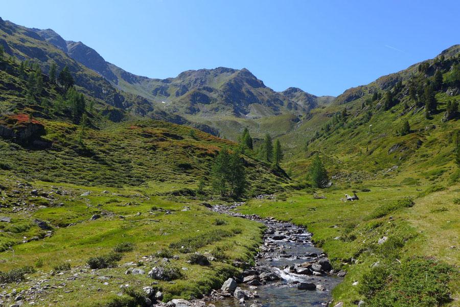 Feldnerhütte - Teuchl, Bach - Wanderung, Kreuzeckgruppe, Kärnten