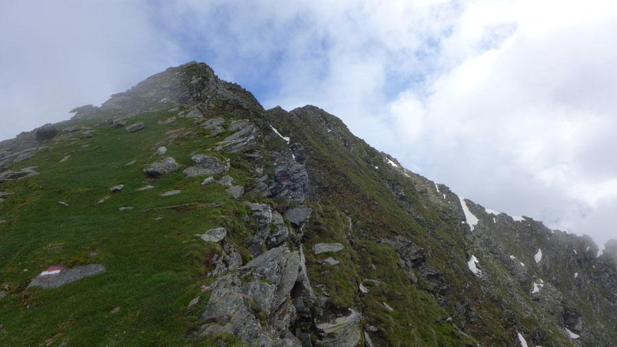 JWD Bergtouren Maresenspitze Gipfelhang
