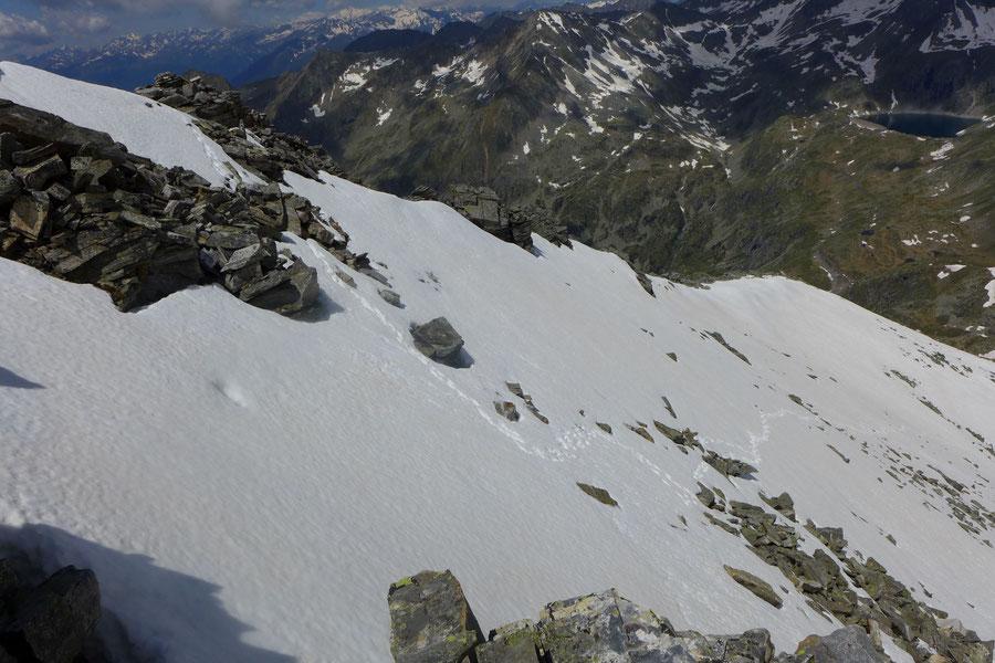 Riedbock - Nordgrat Gamsspur - Bergtour, Reißeckgruppe, Mölltal, Kärnten