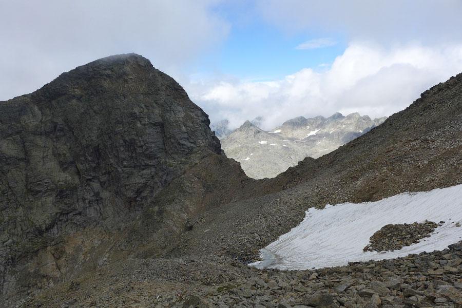 Petzeck Normalweg - Kruckelkopf und Petzeckscharte - Bergtour, Wangenitzseehütte, Schobergruppe