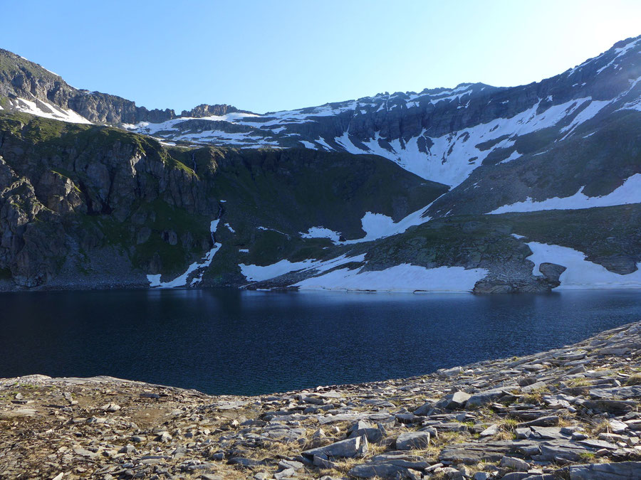 Zaubernock - Hochalmsee - Bergtour, Obere Mooshütte, Reißeckgruppe, Kärnten