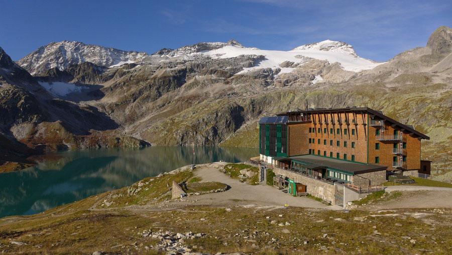 JWD Bergtouren Kapruner Törl Rudolfshütte und Stubacher Sonnblick