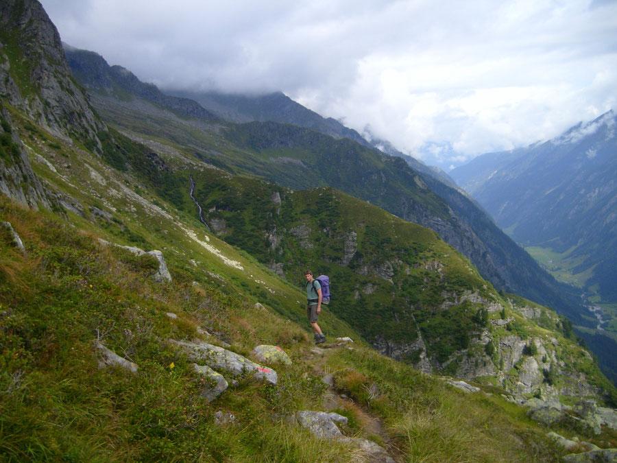 Lapenscharte - Elsenklamm - Kasseler Hütte, Greizer Hütte - Wanderung, Bergtour, Zillertaler Alpen