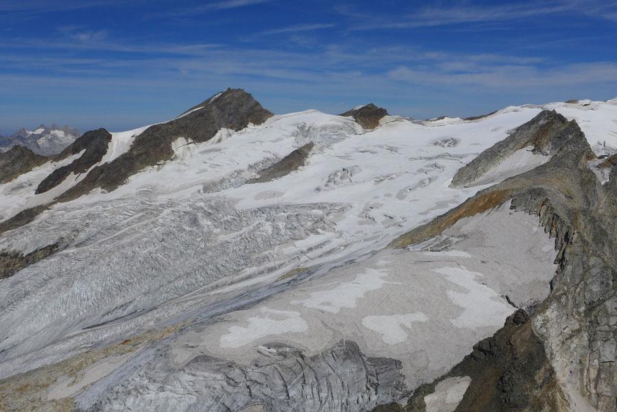 Nördliche Malhamspitze - Bergtour, Ostgrat, Essener-Rostocker-Hütte - Umbalkees, Dreiherrenspitze