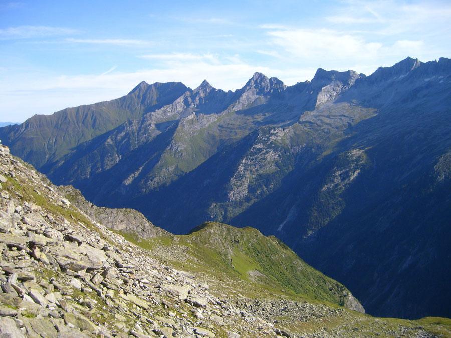 Lapenscharte - Siebenschneidensteig - Kasseler Hütte, Greizer Hütte - Wanderung, Bergtour, Zillertaler Alpen
