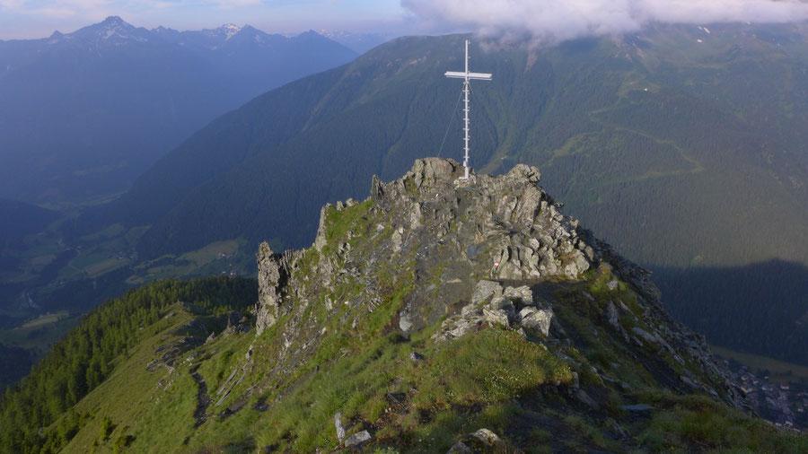 JWD Bergtouren Maresenspitze Gipfel des Auernig