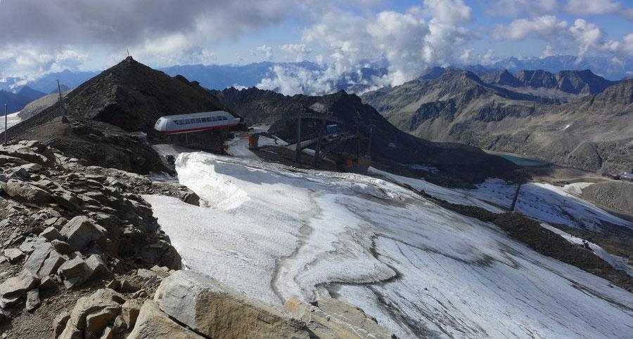 """JWD Bergtouren Goldberggruppe Gletscherskigebiet """"Mölltaler Gletscher"""""""