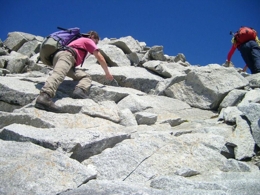 Großer Möseler - Ostgrat im 1. Grad - Bergtour, Zillertaler Alpen, Südtirol, Chemnitzer Hütte