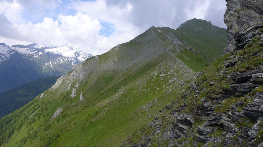 JWD Bergtouren Maresenspitze Steig vom Auernig zu den Törlköpfen 2