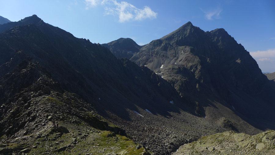 Mirnitzscharte - Hoher Prijakt - Bergtour, Hochschoberhütte, Lienzer Hütte, Schobergruppe