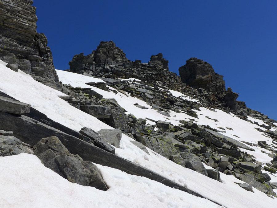 Zaubernock - Nordwestlicher Gipfel - Bergtour, Obere Mooshütte, Reißeckgruppe, Kärnten