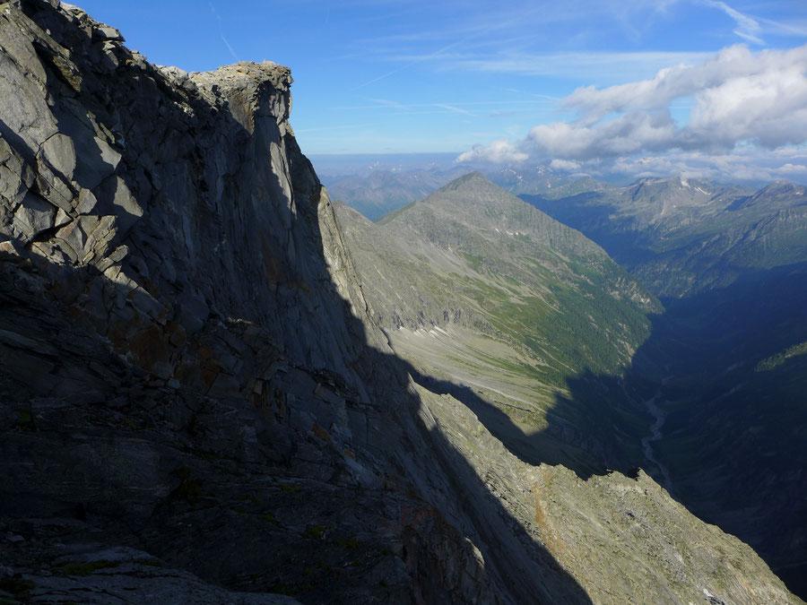Hochalmspitze - Schneewinkelspitze über'm Seebachtal -  Bergtour, Detmolder Grat, Steinerne Mandln