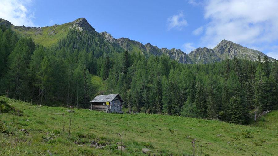 Mösernhütte Salzkofel - Mernikalm Kälberhüttl - Wanderung, Kreuzeckbahn, Kärnten