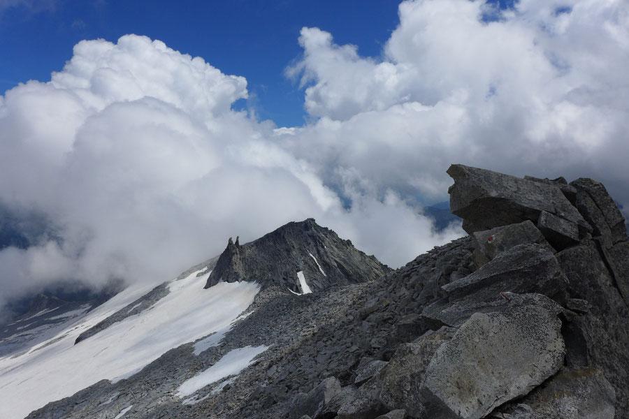 Hochalmspitze - Südostgrat zu den Steinernen Mandln -  Bergtour, Detmolder Grat, Gießener Hütte