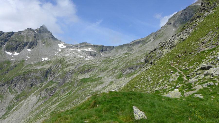 Dichtensee - St. Pöltener Westweg - Wanderung, St. Pöltener Hütte, Venedigergruppe
