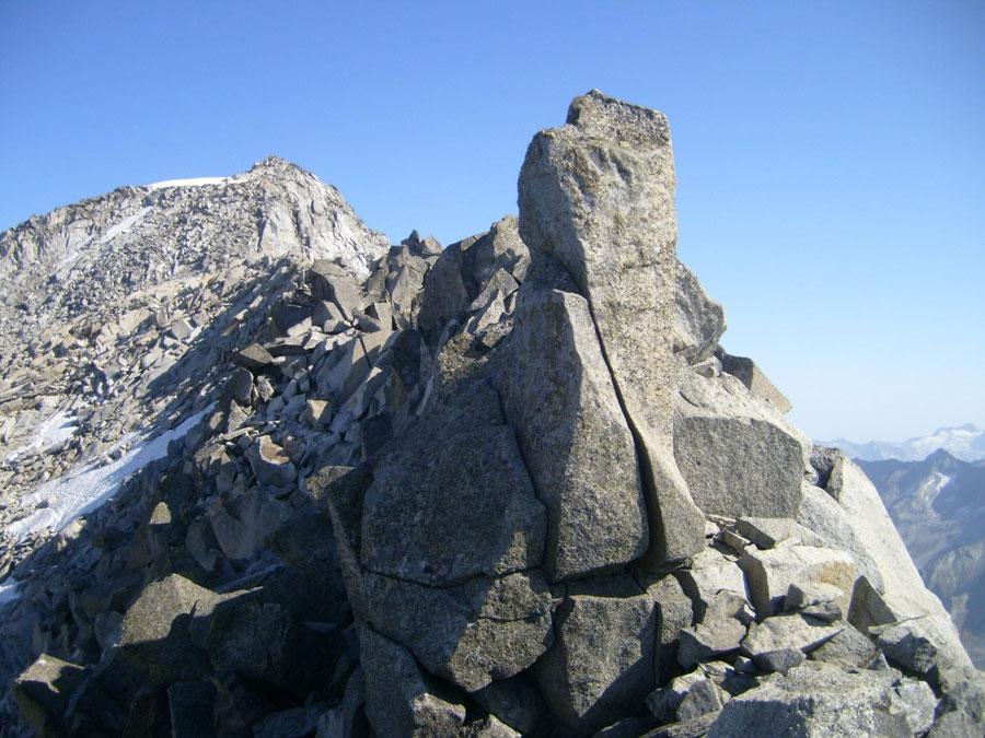 Großer Löffler - Gratkletterei über die Trippachspitze - Bergtour, Zillertaler Alpen, Ahrntal, Südtirol