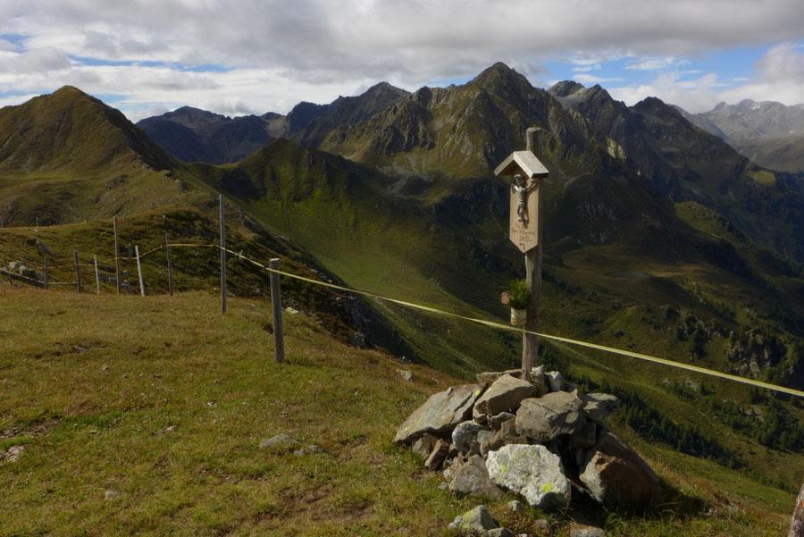 Pfunderer Höhenweg - Hoher Spitz - Wanderung, Pfunderer Berge, Südtirol
