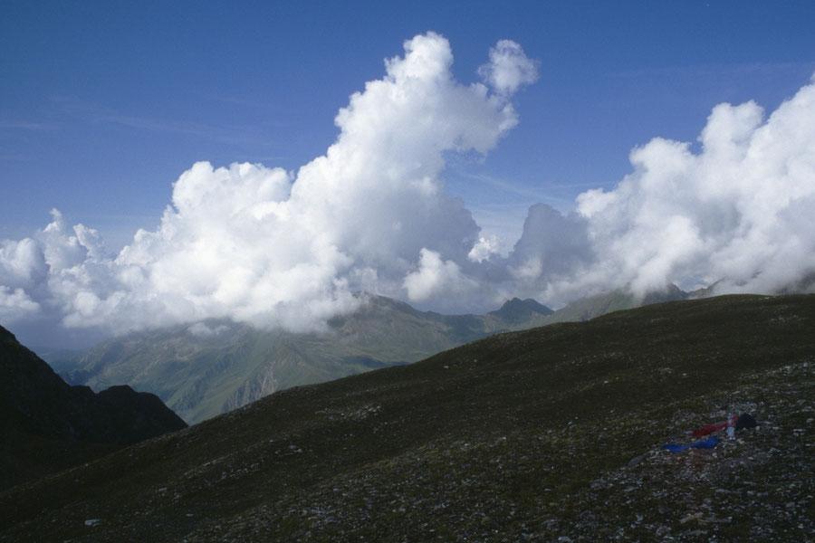 Pfunderer Höhenweg - Joch in der Enge von Brixner Hütte - Wanderung, Pfunderer Berge, Südtirol