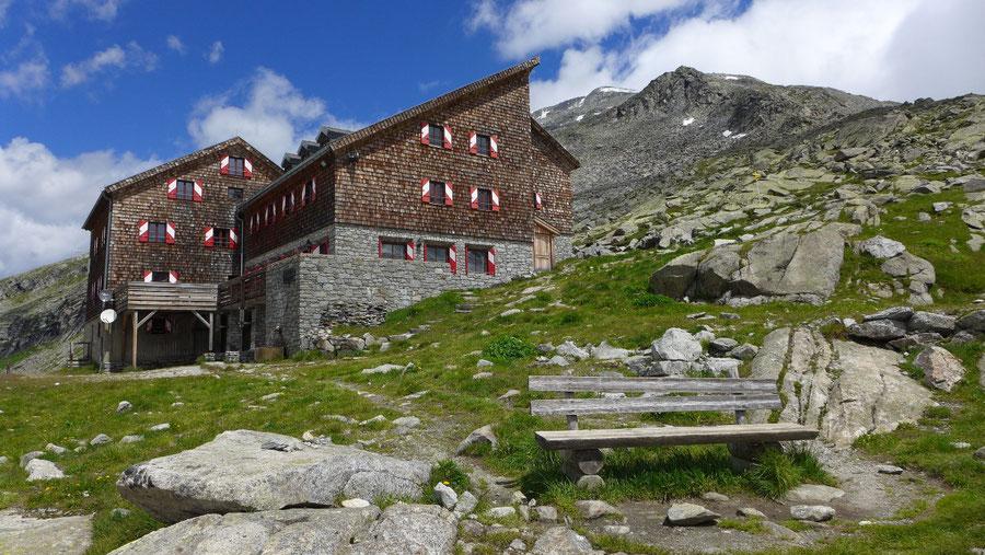 JWD Bergtouren Großvenediger Kürsinger Hütte - Hütte und Keeskogel