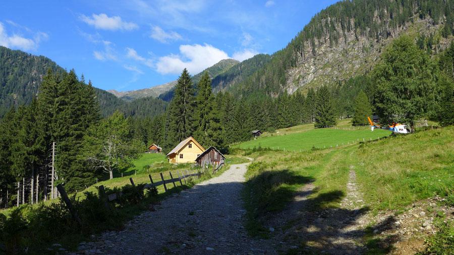 Feldnerhütte - Teuchl, Wirtsalm - Wanderung, Kreuzeckgruppe, Kärnten