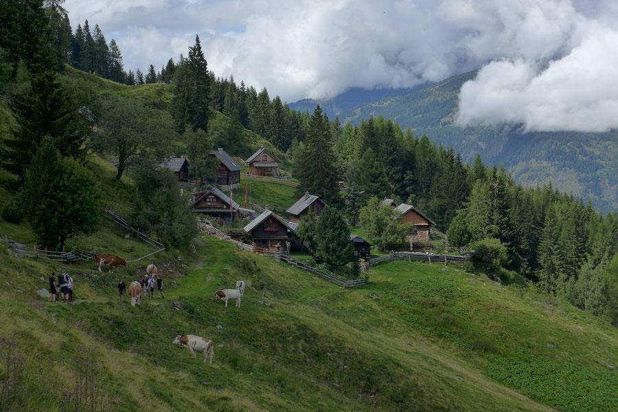 Mernikalm Poldis Jausenstation - Kälberhüttl Mösernhütte - Wanderung, Kreuzeckbahn, Kärnten